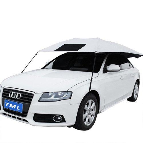 The Metal Lamination Car Shield (Synthetic Cloth, Silver)