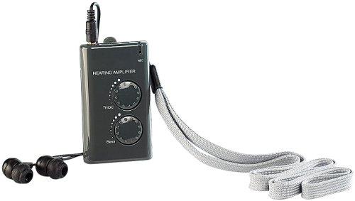 newgen medicals Hörhilfen: Hörverstärker mit Richtmikrofon (Hörgeräteverstärker)