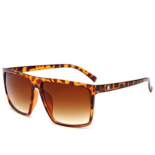 HYUHYU Sonnenbrille Männer Spiegel Foto Chrom Übergroße Sonnenbrille Männliche Sonnenbrille Für Mann