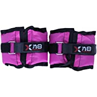 Pink Ankle Weights Velcro Adjustable Leg Wrist Strap Running Gym Training Exercise