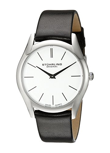 41CYwFRfarL - Stuhrling Original Classic Silver Mens 434.33152 watch