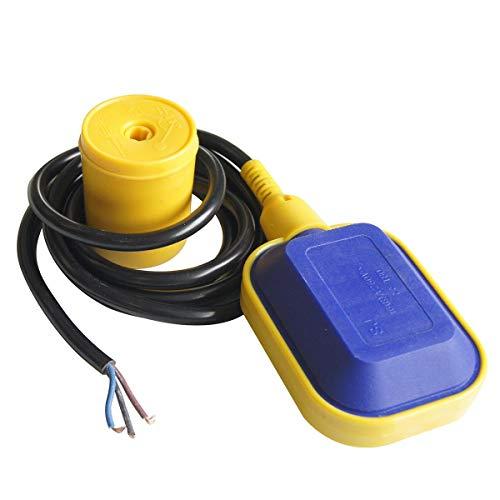 Merry Tools HK Interruttore Galleggiante per Pompa Elettrica con Cavo 2m - 151010