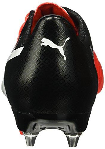 Puma Herren Evopower 1.3 Mx Sg Fußballschuhe Rot (Red blast-puma white-puma Black 01)