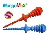MangoMax einfach in den Kern der Mango eindrehen und schon