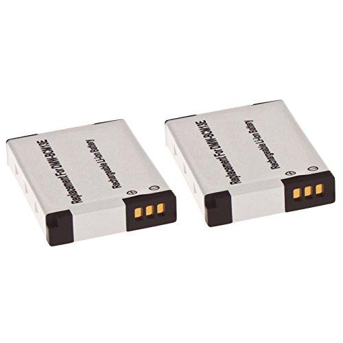 2x MTEC Kamera Akku 900mAh 3,20Wh 3,6/3,7V für Panasonic Lumix DMC-FT5 DMC-TS5 DMC-TZ40 DMC-TZ41 DMC-TZ56 DMC-TZ61 DMC-ZS30 ersetzt Originalakku Bezeichnung: DMW-BCM13 DMW-BCM13E DMW-BCM13PP