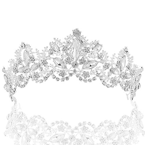 Prinzessin Braut Kostüm Für Erwachsene - Coucoland Braut Tiara Hochzeit Krone Luxus