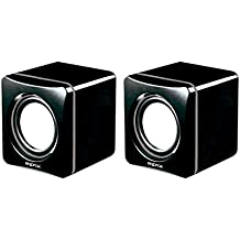 Approx APPSPXLITE - Altavoces con USB (6W), color negro