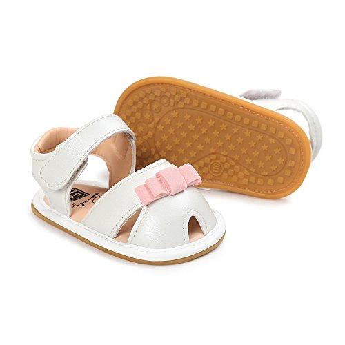 Krabbelschuhe Sandalen, Chickwin mädchen baby Weiche Alleinige Kleinkind Schuhe Krabbelschuhe 6-18 Monate F