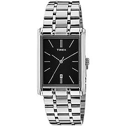 Timex Fashion Analog Black Dial Men's Watch - TI000M70100