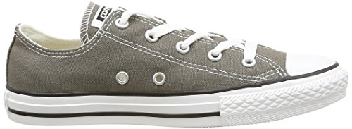 Converse All Star Ox Canvas-Au2, Sneaker Unisex – Bambini Charcoal