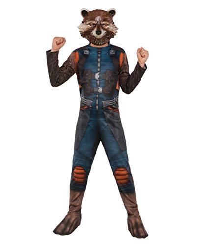 Horror-Shop Original Rocket Raccoon Kinderkostüm aus Guardians of The Galaxy Vol. 2 ()