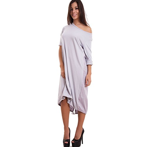 Toocool - Robe - Colonne - Femme Gris