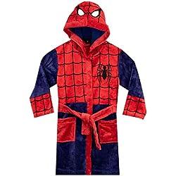 Marvel - Robe de Chambre - Spiderman - Garçon - Rouge - 5-6 Ans