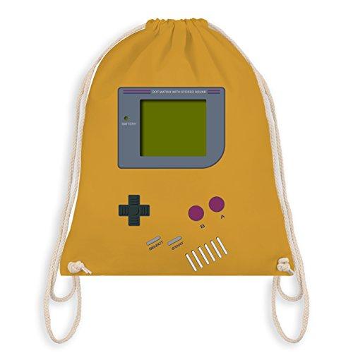 Nerds & Geeks - Gameboy - Unisize - Senfgelb - WM110 - Turnbeutel & Gym Bag
