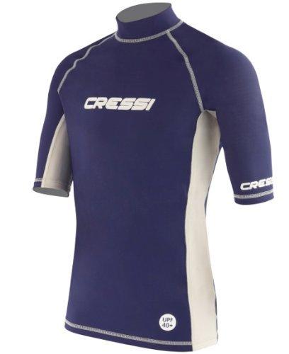 Cressi Herren Rash Guard Kurzarm-Shirt, Men's - Large