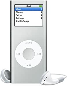 Apple iPod nano 4GB Silver (discontinued by manufacturer)