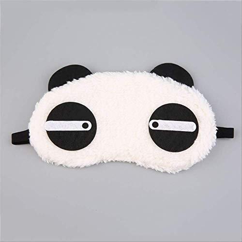 Augenmaske für schlafende Panda, niedlichen Panda schlafen Gesicht Augenmaske, Eyeshade Reisen Schlaf Eye Aid, Geburtstagsgeschenk für Jungen und Mädchen - Niedlichen Kein Gesicht Kostüm