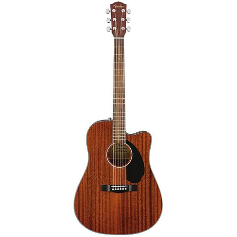 FENDER CD 60SCE ALL MAHOGANY  NATURAL  PALISANDRO – GUITARRA ELECTROACUSTICA
