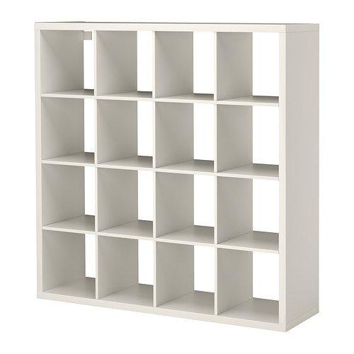 IKEA Kallax - Estanterías unidad, blanco - 147x147 cm