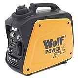 Wolf Petrol Inverter Suitcase Generator 800w 2.6HP 4 Stroke Silent Portable Caravan Camping