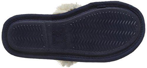 Women'secret  C3 - KNIT SLPRS NAVY, Herren Hausschuhe blau Blau