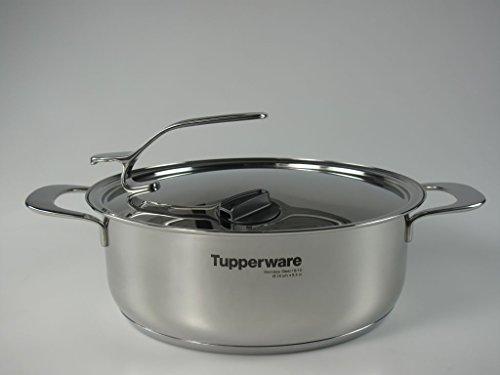TUPPERWARE Chef-Serie Gourmet-Line Kasserolle 3,8 L inkl. Metalldeckel Topf Tupperware Topf
