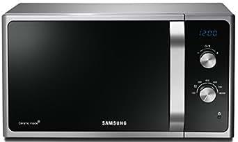 Samsung MS23F301EASEG Mikrowelle/23 L/800 W/Schwarz/Silber/Premium Select Line elektronische Steuerung