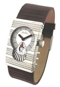Lip - 2020112 - Montre Homme - Quartz analogique - Michelin 1930s Art-Deco - Bracelet en cuir noir