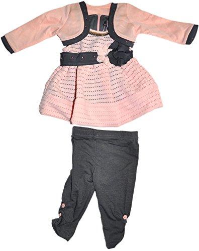 Chicaprie - Conjunto - para bebé niña rosenoir 3 años 34bb94a3dca