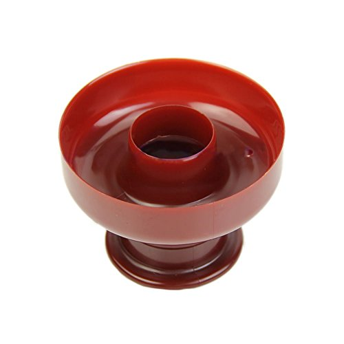CXZX Wiederverwendbare Lebensmittel Silikon Donut Backform, Donut Maker Backform am besten für Backen Kürbis Backform Verwendung für Spülmaschine, Ofen, Mikrowelle, Gefrierschrank Safe