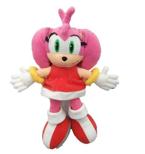 Official Sega Amy 30cm Soft Toy (Sonic Character)