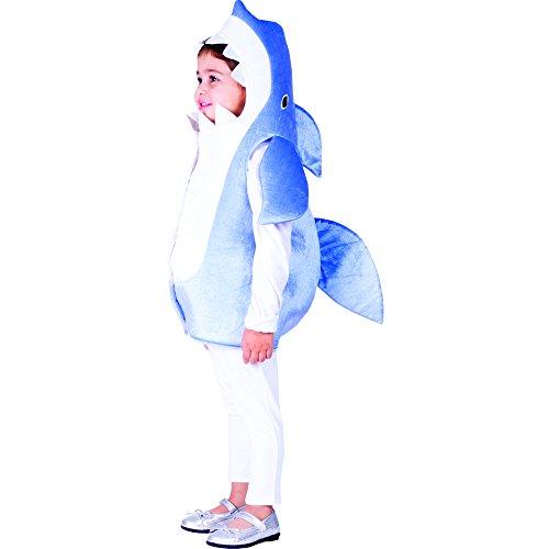 Dress Up America Costume bambino Sky blu Shark