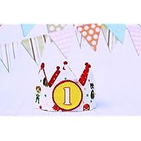 Corona de cumpleaños Superhéroes decoración de fiesta infantil niños