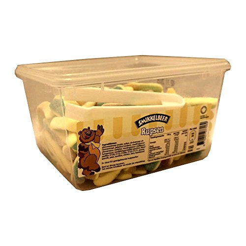 Smikkelbeer Rupsen 150 Stck. Box (Fruchtgummi Raupen)