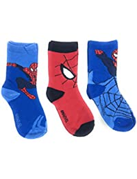 Spiderman Boys' Calf Socks