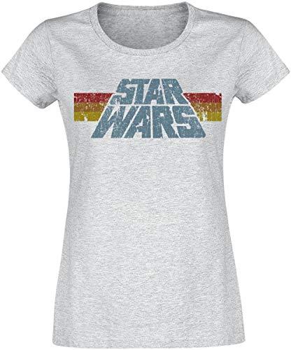 Star Wars Vintage 77 T-Shirt grau meliert M
