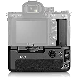 Meike MK-A9 Professional Vertical Battery Grip Compatible with Sony A9 A7RIII A7III Camera
