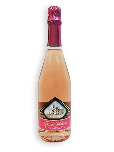 Moscato Rosa dolce, Friaul Rosenmuskateller - Seltenheit 7%vol.