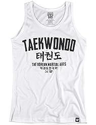 Taekwondo Tank Top. Vest. The Korean Martial Arts. Thumbsdown Last Fight. Gladiator Bloodline. Martial Arts. Fightwear. Training. Casual. Gym. MMA T-shirt