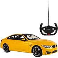 RASTAR - Coche Radio Control 1:14, BMW M4 Coupé, Color Amarillo (