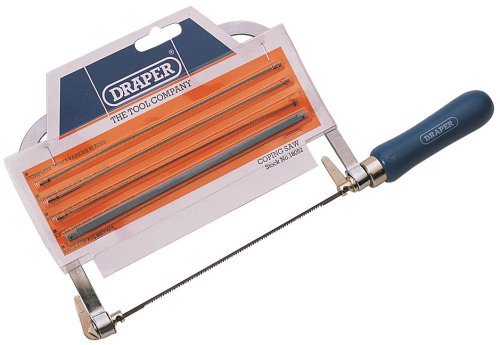 Draper 18052 Coping Saw Frame With 5 Blades Test