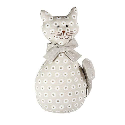 Stoff Türstopper Katze Türhalter Türbremse Dekoration Heimdeko, Katze Geschenk Cat Design Door Stop Decoration Gift for Animal Lover