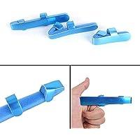Preisvergleich für Blue Vessel Frosch Fingerschiene,Deluxe Fingerschiene Immobilisierung, formbare Gelenk Unterstützung Bandage Fixierter...