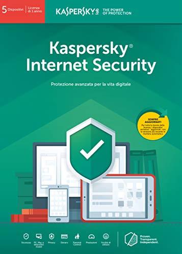 Kaspersky Internet Security 2018 5 Utenti | 1 Anno