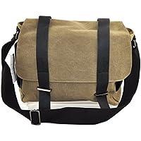Kaki tela borsa Messenger borsa iPad, Multi funzione per MacBook