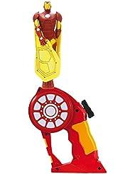 Bandai - Flying Heroes: Iron Man, juego de disparos (52272)