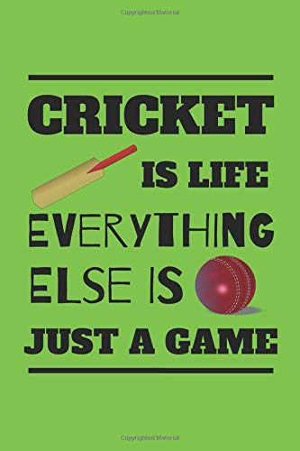 Handy-cricket (Cricket Is Life Everything Else Is Just A Game: Handy Notebook For All Fans Or Players Of The Greatest Sport In The World, Cricket)