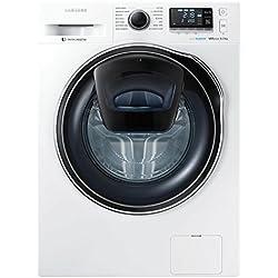 Samsung WW80K6210RW Freestanding Front-load 8kg 1200RPM A+++ White washing machine - washing machines (Freestanding, Front-load, White, Left, LED, Blue)