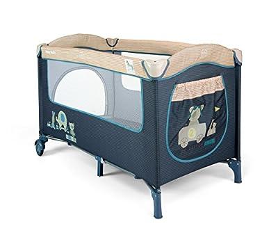 Milly Mally 1926Viaje Mirage cama infantil, color azul