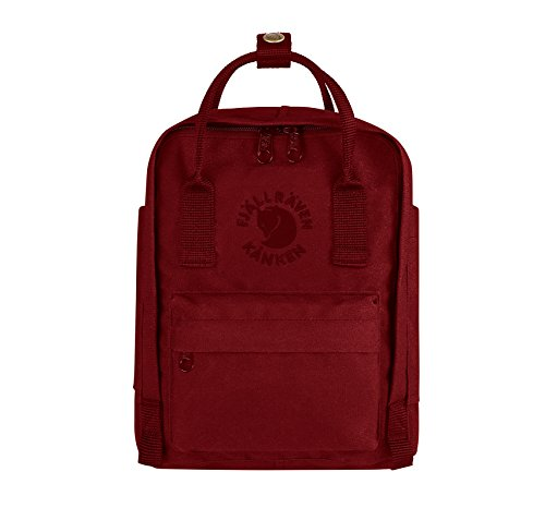 Fjällräven Re-Kanken Mini Rucksack, Ox Red, 29 x 20 x 13 cm, 7 L